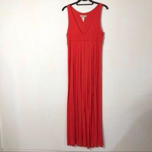 VTG Karen Alexander Boston proper red maxi dress
